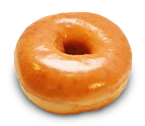 Sugar In One Plain Old Fashioned Donut