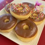 Chocolate Frosted Raised Ring plain or with Sprinkles