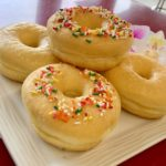 Glaze Frosted Raised Ring plain or with Sprinkles