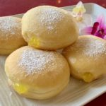 Raised Filled with Lemon Jelly and Powered Sugar